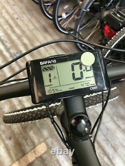 Lombardo Valderice Electric Mountain Bike Bafang 250W Hub Motor, 16 Frame