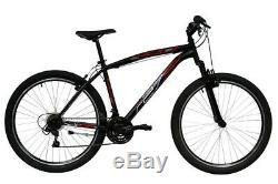 MTB mountain bike 27,5 FORCELLA AMMORTIZZATA 21 velocità MADE IN ITALY NERA