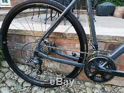 Mason Cycles Bokeh Adventure Gravel Road Bike 54cm Grey Ultegra Hydro