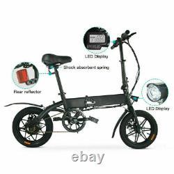 Megawheels Folding Electric Bike Moped Car Bicycle Scooter City E-Bike 250W