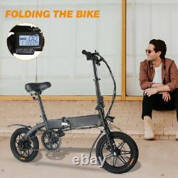 Megawheels e-Bike 14'' Inch Folding Electric Bike City Scooter 36V 250W Motor UK