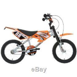 Motobike MXR450 Kids Children Boys Bike Bicycle 16 Inch Wheels Size Steel Frame
