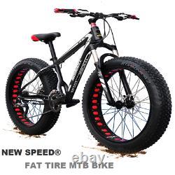 Mountain Bike/Bicycle Fat Tire NEW SPEED Men/Women 26MTB Frame Full Suspension