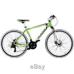Mountainbike 26 Zoll Hardtail MTB Galano Toxic Jugend Rad Fahrrad 21 Gang Grün