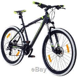 Mountainbike 27,5 Zoll 650B MTB Galano Toxic Fahrrad Hardtail Scheibenbremsen