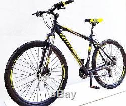 Mountainbike 29 Fahrrad Gt Alu Mtb, 21 Shimano, Disc Brake Sparkle, Neco Vorbau
