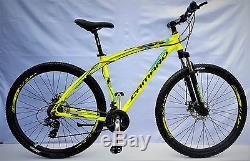 Mountainbike 29 Fahrrad Gt Alu Mtb, Shimano Gänge + Bremsen Hydraulisch, Neco