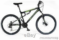 Muddyfox Livewire 26 Inch Wheels 21 Gears Disc Brakes Mountain Bike Men's