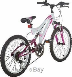 Muddyfox Radar 20 Inch Full Suspension Mountain Bike Girls