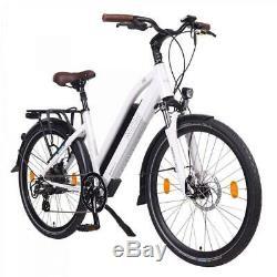 NCM Milano 26 Trekking Urban E-Bike 48V 13Ah 624Wh Akku, City ebike in Weiß