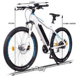 NCM Moscow 29 E-MTB, Mountainbike, E-Bike, 48V 13Ah 624Wh Akku, matt weiß