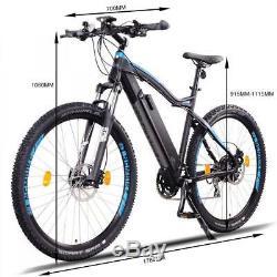 NCM Moscow Plus 29 Electric Mountain Bike E-Bike 250W 48V 16Ah 768Wh black