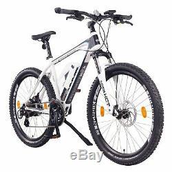 NCM Prague 26 Electric Mountain E-Bike 250W E-MTB 36V 13Ah 468Wh white
