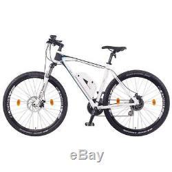 NCM Prague 27,5 Electric Mountain E-Bike 250W E-MTB 36V 13Ah 468Wh, white