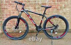 NEWSPEED 29 hybrid mountain bike, front suspension, wavy discs, L-TWOO 21 speed