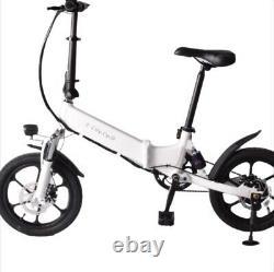 NEW 2021 E City Cycle EBike Electric Folding Bicycle Bike 250W Commuter