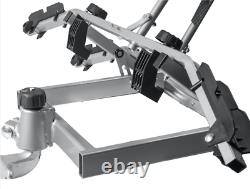 NEW 2 Bike Platform Cycle Carrier 45KG Load Carrier Bikes Tow Bar Hitch Mounted