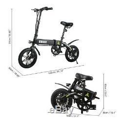 NEW! Dohiker 14 Folding Electric Bike Ebike 7.5Ah 250W Motor Moped Bicycle EU