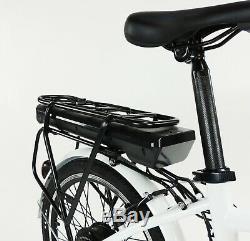 NEW eGlide Folding Electric Bike E-Bike Unisex White