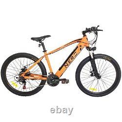 Nero Electric Bike 26 Mountain E-Bike Aluminium 250W E-MTB 36V Front Suspension