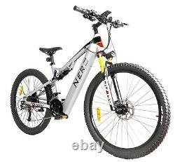Nero Electric Bike Aluminium Mountain 27.5 eBike 250W E-MTB 48V full Suspension
