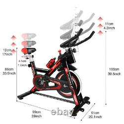 New Exercise Spin Bike Home Gym Bicycle Cycling Cardio Fitness Training Indoor