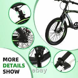 NiceC 20 BMX Bike, Mountain Bike, Cycle Bicycle with Dual Disc Brakes, NEW