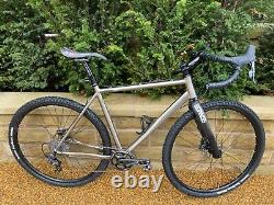 On One Pickenflick Titanium Gravel Cyclocross bike. Medium