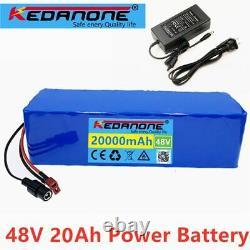 Original 48v 20ah Li-ion Battery Volt Rechargeable Bicycle 1000w E-bike Electric