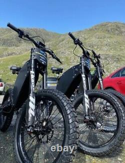 Original MerseBike 75+ Mph Stealth Electric Bike