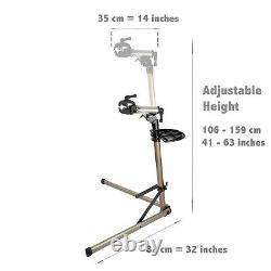 Pro E-Bike Mechanic Bicycle Repair Home Work Stand Rack Portable Limit 50kg