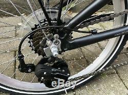 Prophete Alu Bike Fahrrad Klapprad Klappfahrrad 20 Faltrad 7 Gang Schwarz 24k