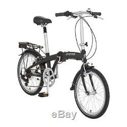 Prophete Alu-Rahmen 7-Gang-Shimano-Kettenschaltung City-Fahrrad Klappbar +Tasche
