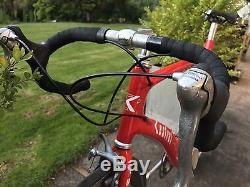 Rare Kestrel KM40 Airfoil Spinergy Rev X Carbon Fiber Shimano Ultegra Aero Bike