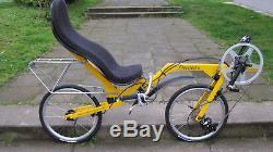 Recumbent Folding Bike Bicycle Flevobike NEW