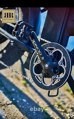 RiffRaff Black Shadow V2 Electric Bike E-bike 1000w 48v 14.5ah Ebike UK STOCK