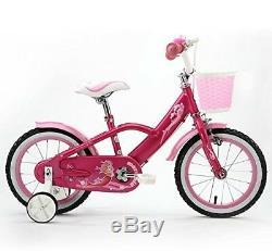 Royal Baby Mermaid Style Princess Pink Kids Bike Girls Bikes 12 14 16 & 18