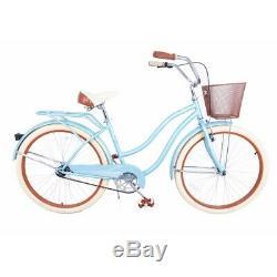 Royal London Retro 18 Ladies Cruiser Bike with Basket
