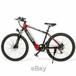 SAMEBIKE 26 Inch Power Assist Electric Bicycle Moped E-Bike City Bike 30km/h EU