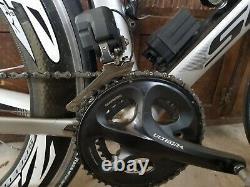SCOTT FOIL 15 Shimano Ultegra DI2 carbon road bike with 606 Zipp carbon clincher