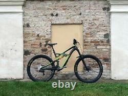 S Works Enduro Carbon 29 Mountain Bike Race Face Mono Green 27.5tires