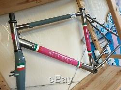 Sabbath Titanium Frameset. Cyclocross, Gravel, Touring Bike. Medium