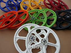 Skyway 20 TUFF II Wheelset BMX Bike Mag Wheels Sealed Bearings NEW & BOXED PAIR