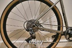 Sonder Titanium Gravel All-Road Adventure Bike (M), Sram Force 1, Hunt Wheels