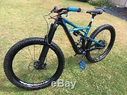Specialized Enduro Elite Carbon 29/fattie 27.5 Medium Mountain Bike 2017