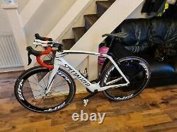 Specialized Venge Carbon Road Bike 2018 54 Cm Medium Very Low Mileage Mint
