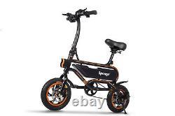 Sponge E-Bike Folding Electric Bike Bicycle Bike 250W Power 12 Wheel