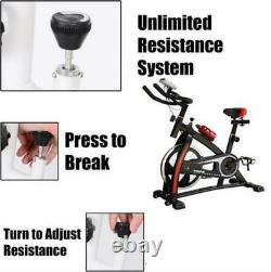 Sports Exercise Bike Cycle Indoor Training Fat Burn Machine Home 18KG flywheel