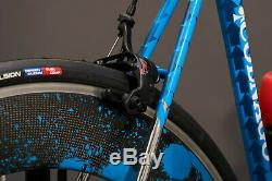 Stash Colnago PROTOTYPE road bike (57cm) with ORIGINAL Artwork wheel-set