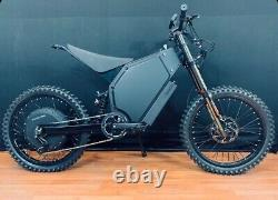 Super High Power Electric Bike 72v 12000w 12kW eBike with 48ah Battery 70pmh+